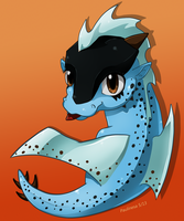 My cute dragoness x3 by Paulinesa