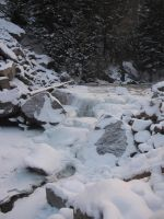Frozen Rapids 2 by Collidoscope