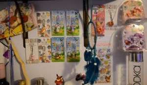 Pokemon Strap Collection with a side of PitaPoke by RedBeanIceCream