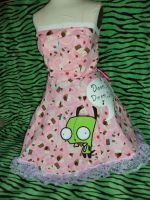 Gir Invader Zim Lolita Dress by Alien-Phant