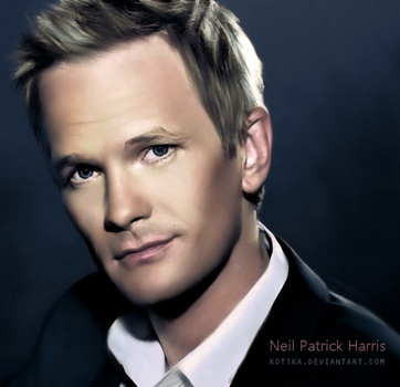 Neil Patrick Harris by Kot1ka