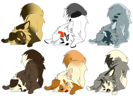 Puppy Adoptables CLOSED by DoctorCritical