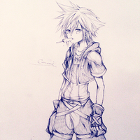 Sketch: Sora by eumiii