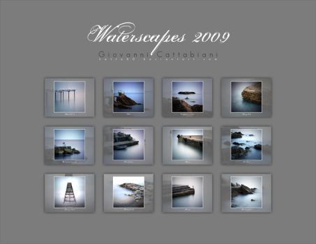 Waterscapes 2009 Calendar by Katta80