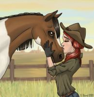 Jeanie and Buddy by rainbowtiger