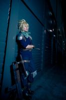 CRISIS CORE: Cloud 01 by christie-cosplay