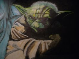 Yoda 013 by spidermonkeykiss