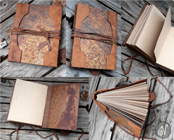 I like Rusty Books (Available on Etsy) by Nymla