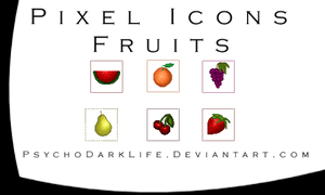 Pixel Icons Pack by ObscureLilium