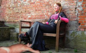 Worship my boots slave! by swamies