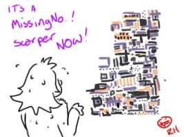 MissingNo. by MineralRabbit