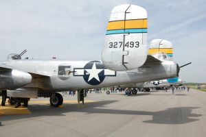 B-25 Lineup - Doolittle 70th Anniversary by comradeloganov