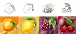 Fruit icons 2 by artforgame