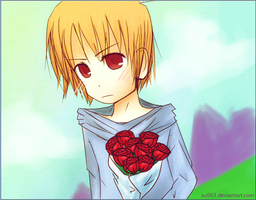 Kyo with Flowers by isa961
