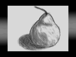 a pear by cat2198