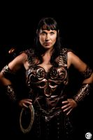 Xena at SDCC by ModernXena