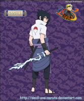 Sasuke by Devil by devil-one-naruto