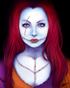 She's All Sewn Apart by tbdoll