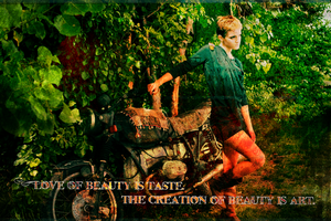 Emma Watson: Beauty Wallpaper by suicidebyinsecticide