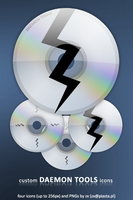 DAEMON Tools icons by pimpmydesk