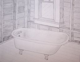 Bathtub Perspective by moose6182