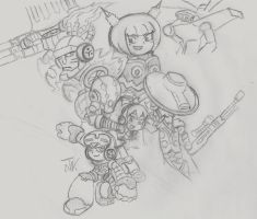 Mighty no.9 (WIP) by SuperGon-64