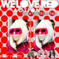 We Love Red Action by PartyWithTheStars