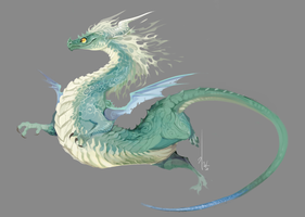 dragon by Ganym0