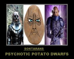 Doctor Who - Sontarans by DoctorWhoOne