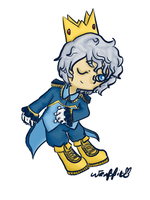 Prinplup Prince by theamazingwrabbit