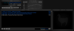 DEFAult winamp Skin Grey Dark blue ByEmiLEDESMArg by EmiLEDESMArg