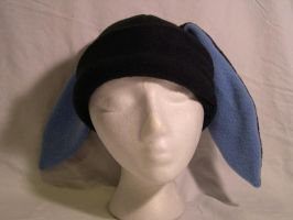 Black Bunny Hat - CLEARANCE by kittyhats