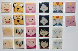 Adventure Time magnets full set by knil-maloon