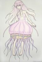 jellyfish girl by Stalaxy