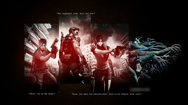 Resident Evil Wallpaper by Daphnecool