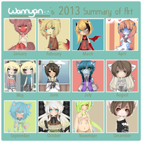 2013 Art Summary by WanNyan