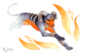 Favorite Fire :: Houndoom by Kohva