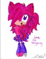 Request: Love the Hedgehog by Lilymint7