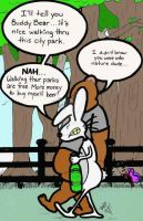 In The Park With Psycho Bunny by MicheleWitchipoo