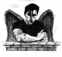 Davey Havok Angel by johannale