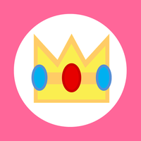 Princess Peach Kart Flag by RafaelMartins