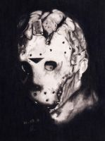 Jason Goes To Hell Portrait by lPinhead