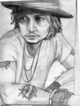 Could be Johnny Depp by Purplepies