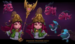 Dragon Trainer Lulu by MissMaddyTaylor