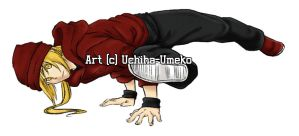 Breakdancing Ed by Uchiha-Umeko