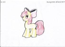Applebloom by Drawing-Heart