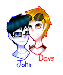 |Pc| John And Dave by AISAKA123