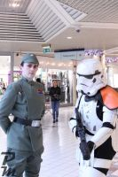 Imperial Officer and Stormtrooper by Peachey-Photos