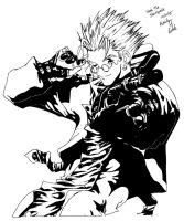 Trigun - Vash the Stampede by K-L-Designs