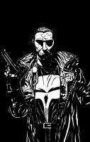 The Punisher (Tribute) by Defaced-Fiend